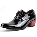 cheap Men's Oxfords-Men's Formal Shoes Patent Leather Spring / Fall Oxfords Black / Party & Evening / Novelty Shoes