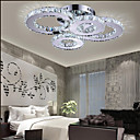 cheap Wall Stickers-4-Light Flush Mount Ambient Light - Crystal, LED, 110-120V / 220-240V, Yellow / White, LED Light Source Included / 15-20㎡