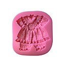 cheap Baby Shoes-Bakeware tools Plastic Cake Decorating / 3D For Cake Cake Molds 1pc