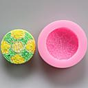 baratos Artigos de Forno-Ferramentas bakeware Silicone Amiga-do-Ambiente / Ano Novo / Faça Você Mesmo Bolo / Biscoito / Torta Desenhos Animados 3D Molde 1pç