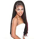 cheap Hair Braids-#1B / 99J / #27 / #30 Others Dread Locks Haarverlängerungen 18 Kanekalon 24 Strand 120 Gramm Haar Borten