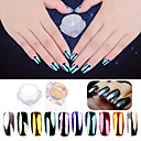 abordables Purpurina para Manicura-1 pcs Glitter y Poudre / Polvo Glitters / Clásico Nail Art Design Diario