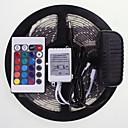 abordables Tiras de Luces LED-SENCART 5 m Controladores RGB 300 LED RGB Control remoto / Cortable / Impermeable 100-240V / 5630 SMD / Conectable / Auto-Adhesivas