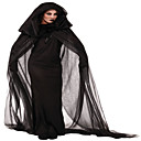 cheap Halloween & Carnival Costumes-Witch Cosplay Costume Party Costume Women's Halloween Festival / Holiday Halloween Costumes Outfits Black Solid Colored Lace
