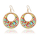 cheap Earrings-Women's Drop Earrings / Hoop Earrings - Fashion Gold For Wedding