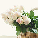 abordables Flores Artificiales-Flores Artificiales 10 Rama Estilo europeo Rosas Flor de Mesa
