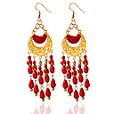 cheap Earrings-Women's - Tassel Black / Red / Blue For Wedding