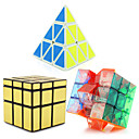 cheap Toy Gliders-Rubik's Cube Pyramid Alien Mirror Cube 3*3*3 Smooth Speed Cube Magic Cube Puzzle Cube Professional Level Speed Tower Classic & Timeless Kid's Adults' Toy Boys' Girls' Gift