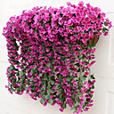 billige Kunstig Blomst-Kunstige blomster 2 Gren Moderne Stil Lilla Veggblomst