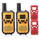 cheap Walkie Talkies-T899C Walkie Talkie Handheld VOX Encryption CTCSS/CDCSS LCD Display Scan Monitoring 3KM-5KM 3KM-5KM 8 AAA 0.5W Walkie Talkie Two Way Radio