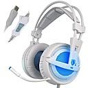 preiswerte Vollständige Nagel Aufkleber-SADES A6 Über Ohr / Stirnband Mit Kabel Kopfhörer Dynamisch Kunststoff Spielen Kopfhörer Lärmisolierend / Mit Mikrofon / Mit Lautstärkeregelung Headset