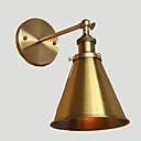 cheap Wall Sconces-Rustic / Lodge Wall Lamps & Sconces Metal Wall Light 220V / 110V 40W / E26 / E27