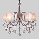 preiswerte Kronleuchter-LWD Kerzen-Stil Kronleuchter Deckenfluter Galvanisierung Metall Kristall 110-120V / 220-240V Glühbirne nicht inklusive / E12 / E14