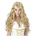 cheap Synthetic Half Wigs-Synthetic Wig / Cosplay & Costume Wigs Body Wave Synthetic Hair Braided Wig / African Braids Blonde Wig Women's Long Capless
