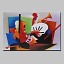 baratos Pinturas Abstratas-mintura® pintados à mão abstrata pintura a óleo famosa na imagem da arte da parede da lona com quadro esticado pronto para pendurar