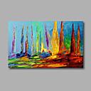 baratos Pinturas Paisagens-Pintura a Óleo Pintados à mão - Abstrato Modern Tela de pintura