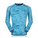 abordables Tops, Pantalones & Short para Correr-Unisex Cuello Barco Camiseta de running - Azul cielo, Rojo, Azul Claro Deportes Sudadera / Top Manga Larga Ropa de Deporte Secado rápido,