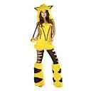 tanie Peruki do cosplay anime-Bunny Girls Kostiumy Cosplay Kostium imprezowy Damskie Boże Narodzenie Halloween Karnawał Festiwal/Święto Kostiumy na Halloween Yellow