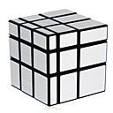 baratos Cubos mágicos-Cubo mágico Cubo QI Shengshou Mirror Cube 3*3*3 Cubo Macio de Velocidade Cubos mágicos Cubo Mágico Nível Profissional Velocidade Espelho Clássico Crianças Adulto Brinquedos Para Meninos Para Meninas