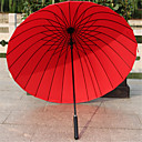 cheap Umbrellas-Textile / Silicone / Metal Men's / Women's / Girls' Sun umbrella / Sunny and Rainy / Rainy Folding Umbrella