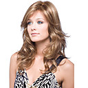 cheap Slipcovers-cerebrity style natural looking brown color wigs with bang