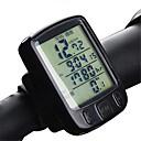 ieftine Electronice & Calculatoare de Bicicletă-A234 Kilometraj Bicicletă lumina de fundal Instrumente de Temperatură Anti-Alunecare Odometru Av - Viteza Medie Dst - Distanță Parcursă