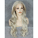 cheap Synthetic Lace Wigs-Synthetic Wig Wavy Blonde Synthetic Hair Blonde Wig Lace Front Blonde