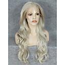 billige Lokkløs-Syntetiske parykker Bølget Blond Syntetisk hår Blond Parykk Blonde Forside Blond