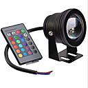 baratos Acessórios de Cabelo-1pç 10 W 480 lm Lâmpada de LED Inteligente 1 Contas LED LED Integrado Regulável / Controle Remoto / Decorativa RGB 12 V