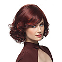 cheap Synthetic Capless Wigs-Synthetic Wig Curly With Bangs Synthetic Hair Wig Women's Short / Medium Length
