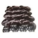 tanie Podkładki stołowe-Włosy virgin Kosmyki włosów ludzkich remy Body wave Włosy brazylijskie 1000 g 6 miesięcy