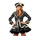 preiswerte Kostüme für Erwachsene-Seeräuber Cosplay Kostüme / Party Kostüme Damen Halloween / Karneval Fest / Feiertage Halloween Kostüme Schwarz Druck