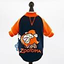 preiswerte Hundekleidung-Katze Hund Pullover Hundekleidung Fuchs Nilpferd Hase/Kaninchen Löwe Cartoon Design Dunkelblau Gelb Blau Rosa Baumwolle Kostüm Für