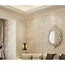 baratos Murais de Parede-Floral 3D Decoração para casa Moderna Revestimento de paredes, Tecido Não-Tecelado Material adesivo necessário Cobertura para Paredes de