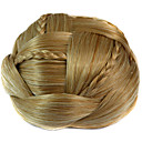 preiswerte Haarteil-Synthetik Haar-Verlängerung Klassisch Gerade Mit Clip Klassisch Gerade Alltag Gute Qualität