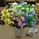 baratos Flor artificiali-Flores artificiais 1 Ramo Pastoril Estilo Flores eternas Flor de Mesa