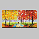 cheap Prints-Oil Painting Hand Painted - Landscape Modern Canvas