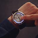 abordables Relojes Militares-Hombre Reloj de Pulsera Digital Piel Banda Digital Encanto Negro - Negro Plata Un año Vida de la Batería / SSUO 377