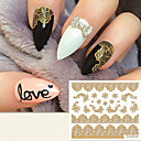 preiswerte 3D Sticker-1 Nagel-Kunst-Aufkleber Make-up kosmetische Nagelkunst Design