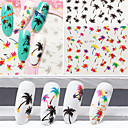 cheap Water Transfer Nail Stickers-1 pcs Fashion Water Transfer Sticker Daily