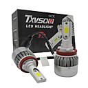 preiswerte Auto Lampen-otolampara 2 stücke h8 h9 h11 36 watt 3800lm 2 cob leds weiße farbe led scheinwerfer kit
