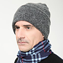 abordables Ropa de Esquí-Hombre Gorro - Trabajo Activo Un Color