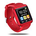 halpa Älykellot-Smart Watch Handsfree puhelut Audio Bluetooth 2.0 iOS Android Ei SIM-korttipaikka