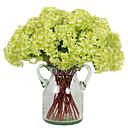 baratos Flor artificiali-Flores artificiais 3 Ramo Estilo Moderno Hortênsia Flor de Mesa