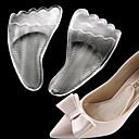 preiswerte Schuhe Zubehör-2pcs Fitness, Laufen & Yoga Einlegesohlen & Einlagen Silikon Vorfuß Ganzjährig Damen Weiß