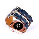 baratos Gargantilhas-Pulseiras de Relógio para Apple Watch Series 3 / 2 / 1 Apple Fecho Clássico Couro Legitimo Tira de Pulso