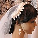 abordables Tocados de Fiesta-imitación perla neta aleación birdcage velos casco elegante estilo