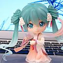 halpa Videopeli-peruukit-Anime Toimintahahmot Innoittamana Cosplay Hatsune Miku PVC 10 cm CM Malli lelut Doll Toy