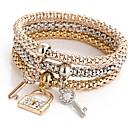 preiswerte Modische Armbänder-Herrn / Damen Bettelarmbänder - Armbänder Golden Für Weihnachts Geschenke / Alltag / Normal