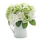 olcso Művirág-Művirágok 9 Ág Modern stílus Rózsák Asztali virág